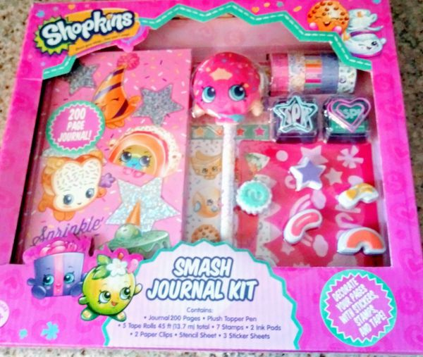 Shopkins Smash Journal Kit