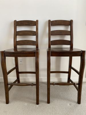 2 Pottery Barn Bar Stools for Sale in Chevy Chase, MD