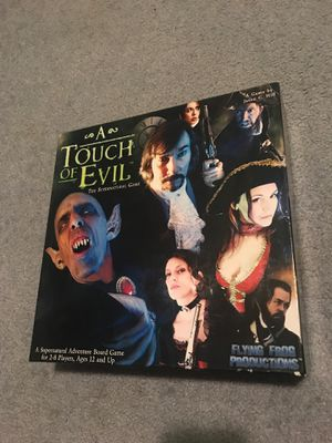 A touch of evil board game for Sale in Graham, WA