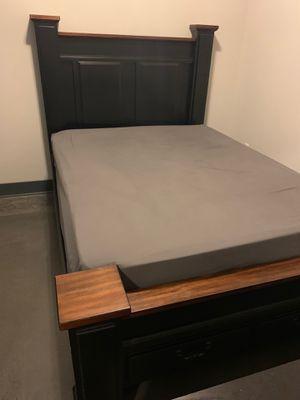 Queen Wood Bed Frame for Sale in Nashville, TN
