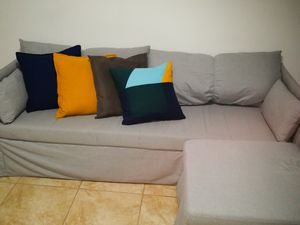 Sleeper Sectional - 3 seats, Queen size (Gray) for Sale in Queens, NY