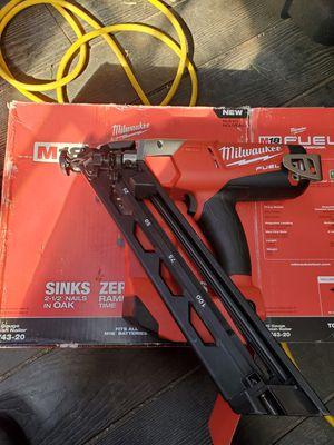 Milwaukee nail gun for Sale in Baldwin Park, CA