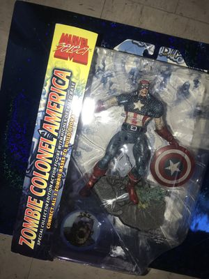 Marvel Legends Select Zombie Captain America Action Figure for Sale in New York, NY