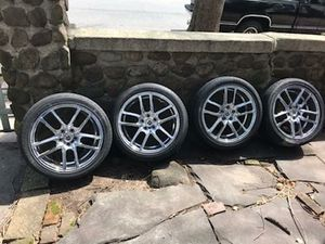 Wheels 18 inch Chrome 18x8 Rims 5x120 +40 CB74.1 . for Sale in Rahway, NJ