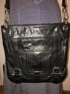 Black leather crossbody bag by The Sak for Sale in Aptos, CA