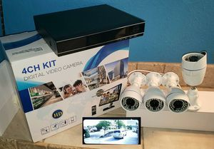 4 x Security Cameras-Se Habla Espanol for Sale in Dallas, TX