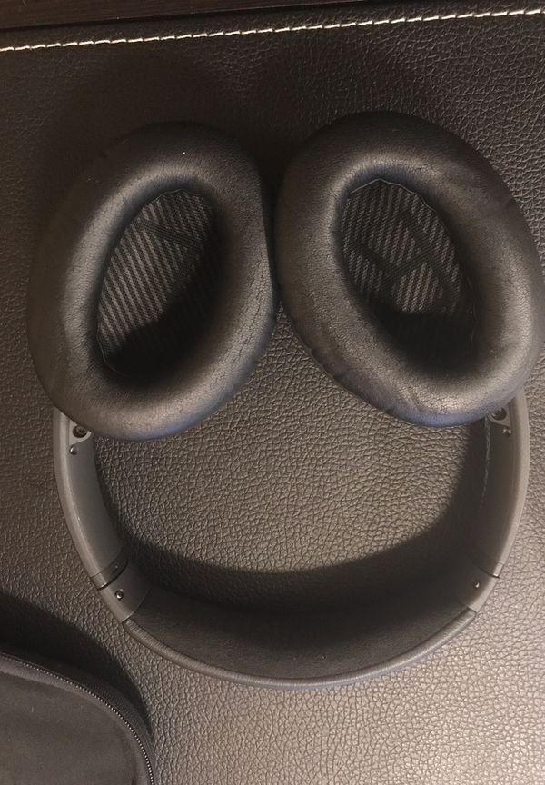 Bose quiet comfort headphones (wireless, noise cancelling, bluetooth)