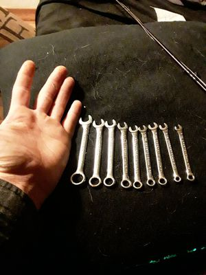 Craftsman 9 piece vintage wrench set for Sale in Atwater, CA