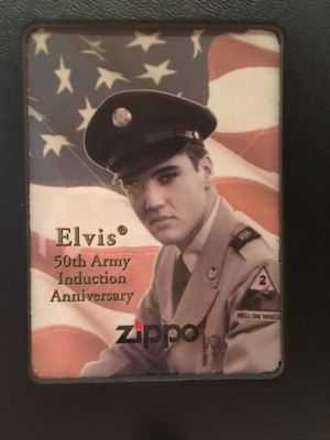 Elvis 50th Army Induction Anniversary Lighter for Sale in Westminster, CO
