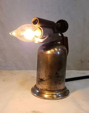Antique Miniature Flame Thrower Lamp for Sale in Lakewood, WA