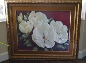 Flower painting Magnolias for Sale in Coral Gables, FL