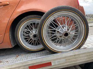 """Rim and tire spock rim 17"""" 5 locks for Sale in Houston, TX"""