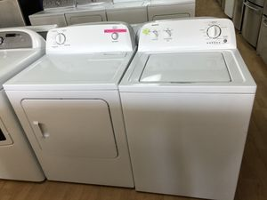 Admiral white washer and roper dryer bundle for Sale in Woodbridge, VA