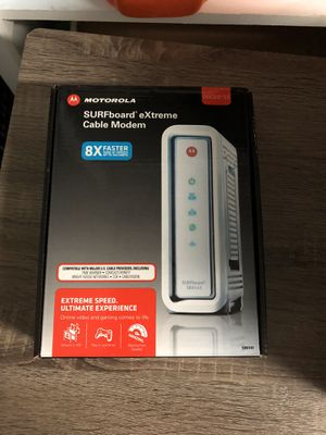 Motorola/ Arris SB6141 cable modem for Sale in Houston, TX