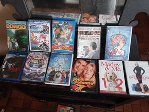 43 total DVDs from family to adult movies for Sale in Jacksonville, FL