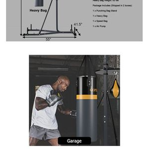 Go Plus Boxing Speed Bag And Punching Bag for Sale in Houston, TX