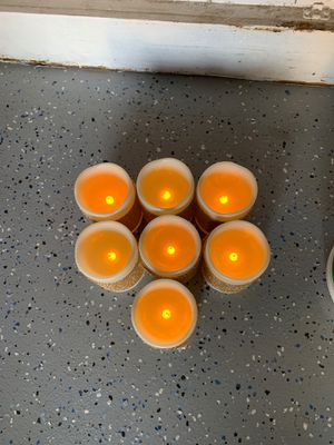 7 Battery operated Candles for Sale in Fontana, CA