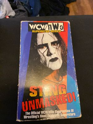 Sting's WCW/NWO VHS Tape for Sale in Maple Heights, OH