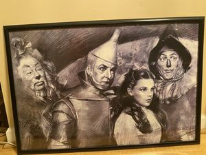 Cool wizard of oz sketch frame for Sale in Greenville, NC