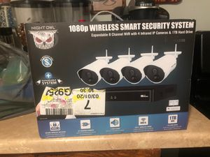 1080p Wireless smart security system for Sale in Chicago, IL