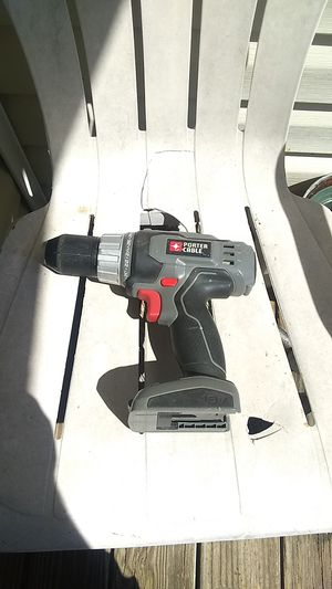 18volt Porter Cable saw and drill I lost the battery for Sale in Morriston, FL