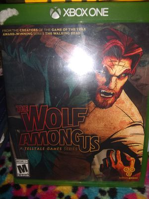 The Wolf Among Us. Xbox one for Sale in Madison Heights, VA