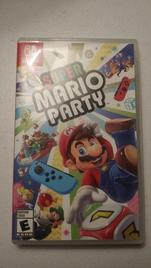 Mario Party Nintendo Switch for Sale in Palm Harbor, FL