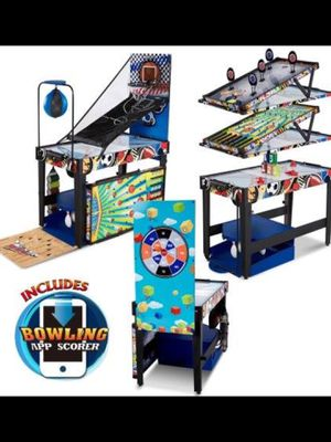 BRAND NEW MD Sports 48 inch 12-in-1 Combo Multi-Game Table, Games with Air Powered Hockey, Basketb for Sale in Bayonne, NJ