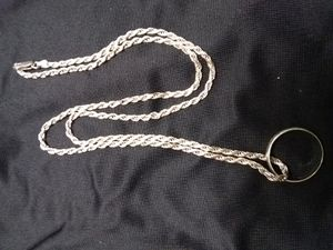 SILVER CHAIN AND RING 925.. .. for Sale in Grand Prairie, TX
