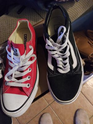 Vans y converse for Sale in Madera, CA