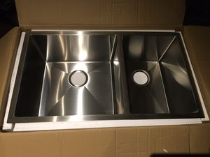 New double bowl kitchen sink for Sale in Nashville, TN