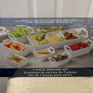 7 Piece Serving Set Brand New for Sale in Kirkland, WA