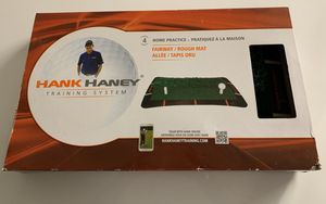 Hank Haney Golf Training System Fairway Rough Mat Practice Brand New in a box Valued at over $59 in stores Great tool for practicing in the comfort o for Sale in Los Angeles, CA
