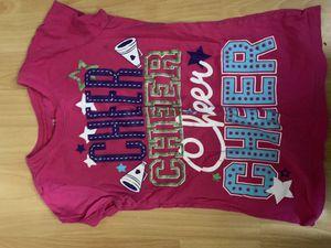 Girls hello kitty cheer shirt for Sale in Baldwin Park, CA