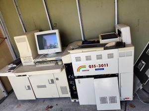 NORITSU QSS-3011 DIGITAL FILM & PHOTO PAPER MINILAB PROCESSOR for Sale in Chicago, IL