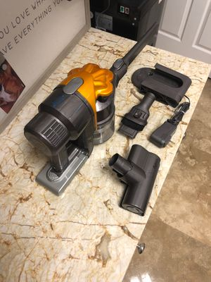 Dyson DC34 portable vacuum good used condition for Sale in Pompano Beach, FL