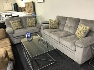 (JUST $54 DOWN) Brand New Sofa and Love Seat Set (Financing and Delivery available) for Sale in Carrollton, TX