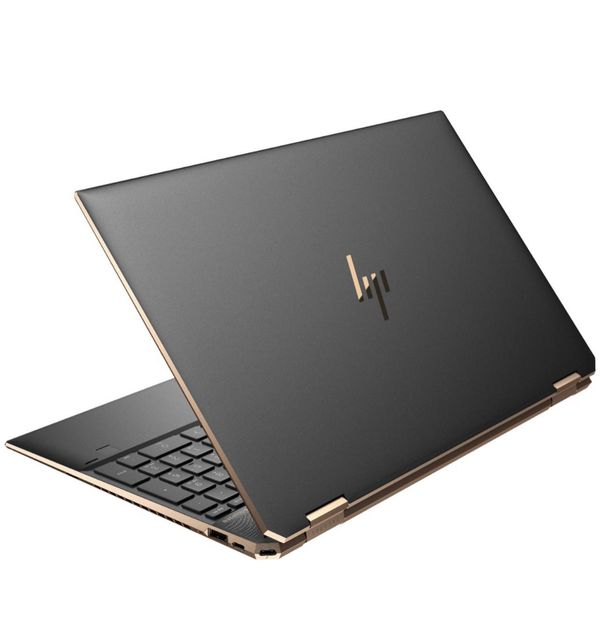 "HP - Spectre x360 2-in-1 15.6"" 4K Ultra HD Touch-Screen Laptop Intel Core i7 16GB Memory GeForce GTX 1650 Ti 1TB SSD Tablet Notebook"