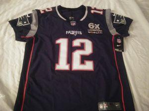 Brady, Patriots Nike Vapor Untouchable Elite 6 Times Champs Jersey - Size Med (40) for Sale in Philadelphia, PA