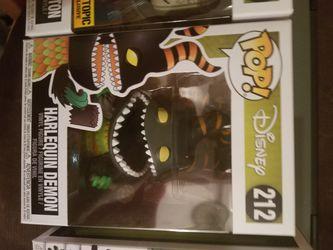 Nightmare befire Christmas Harlequin Demon Funko Pop Figure for Sale in Redmond,  WA