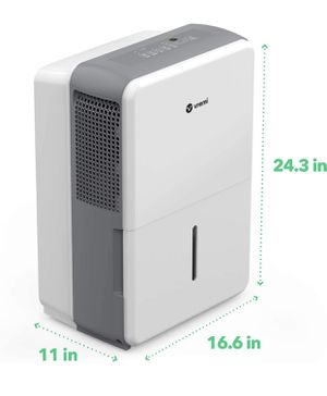 Moisturizer manager lightweight dehumidifier 22.06 Pint Capacity Never been used, open box for Sale in Los Angeles, CA