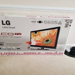 LG 42LH20 42-Inch 720p LCD HDTV, Gloss Black for Sale in Rockville, MD