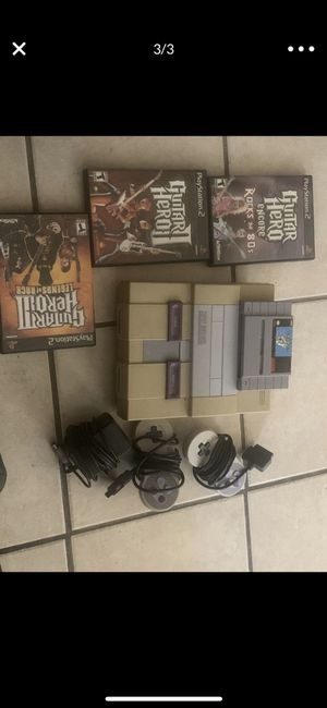 Super Nintendo for sale for Sale in Long Beach, CA