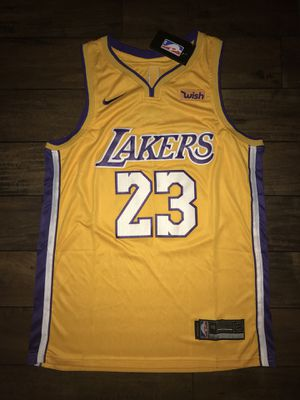 LeBron James Los Angeles Lakers Jersey  23 Yellow Gold Men for Sale in  Westchester 35bc997c9