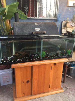 2 Fish Tanks/Aquariums with gravel and accessories!!!🐡🐟🐠🐍🦎🐢 for Sale in Los Angeles, CA