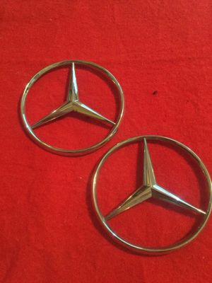 Mercedes Benz rear trunk logo for W124 and W201 for Sale in Round Lake, IL