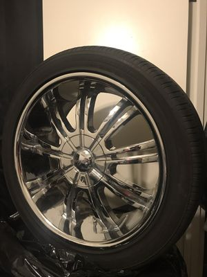 20 inch 5 bolt rims for Sale in Beaverton, OR