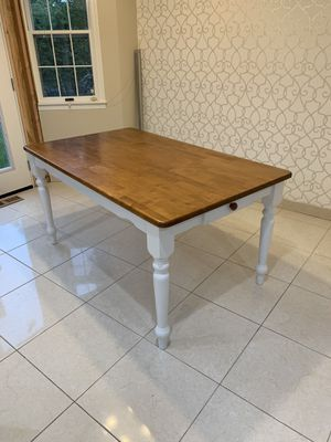Hardwood Kitchen Table for Sale in Garden City South, NY