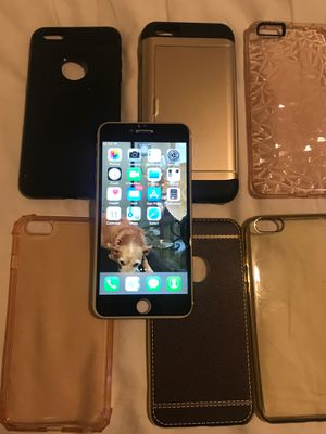 iPhone 6 Plus W/Cases for Sale in Mesquite, TX