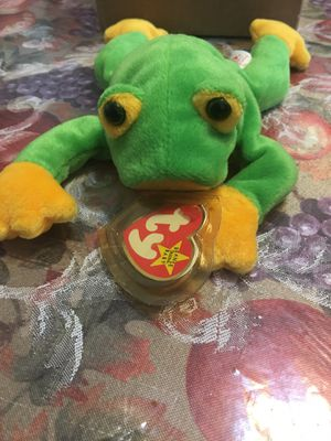 Smoochy beanie Baby frog for Sale in Oceanside, NY
